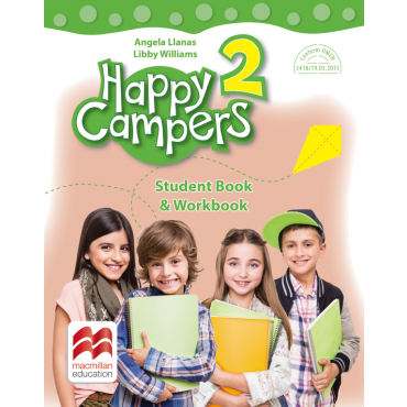 Happy campers. Student Book, Workbook. Clasa a II-a
