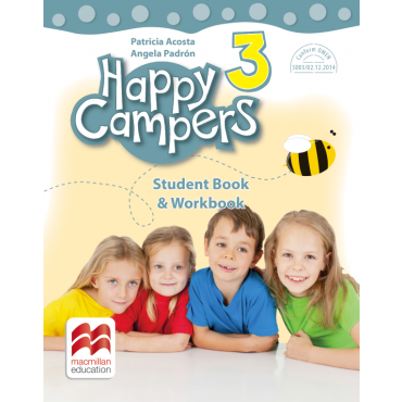 Happy campers. Student Book, Workbook. Clasa a III-a