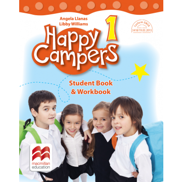 Happy campers. Student Book, Workbook. Clasa I