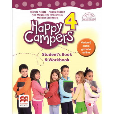 Happy campers. Student Book, Workbook. Clasa a IV-a